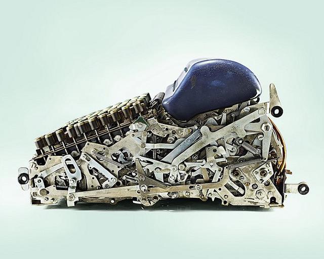 Velha máquina de calcular