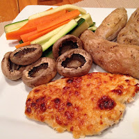 Cheesy Baked Chicken Breasts