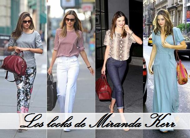 Los looks de Miranda Kerr