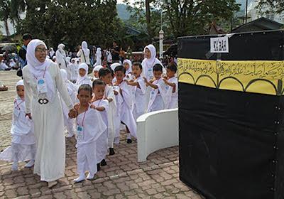 Pengenalan Manasik Haji Untuk Anak Prasekolah