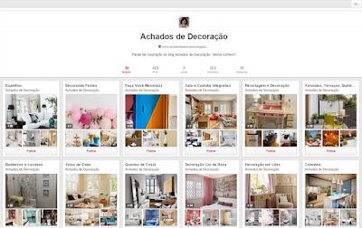 Achados de Decoração no Pinterest
