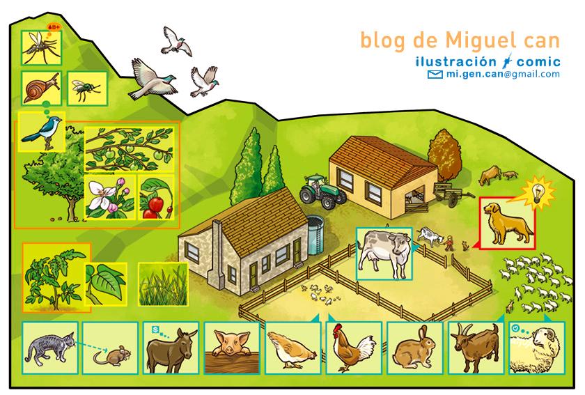 Miguel can Ilustrador ilustracion