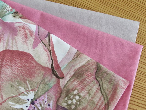 Pink fabric for table runner kits