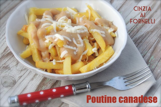 poutine specialità canadese