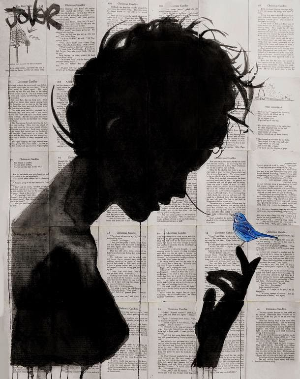 24-Poetica-Loui-Jover-Drawings-on-Book-Pages-www-designstack-co
