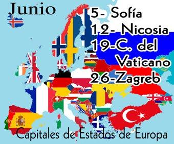 Estas son la cuatro capitales de Estado que visitaremos en junio