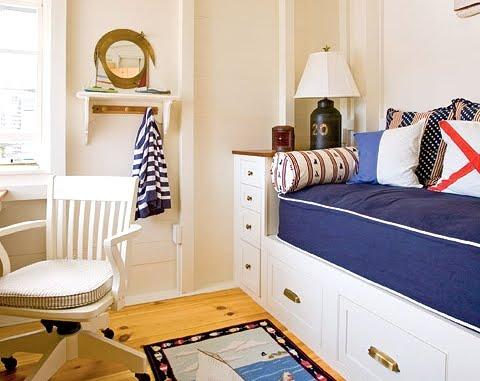 ship cabin style decor