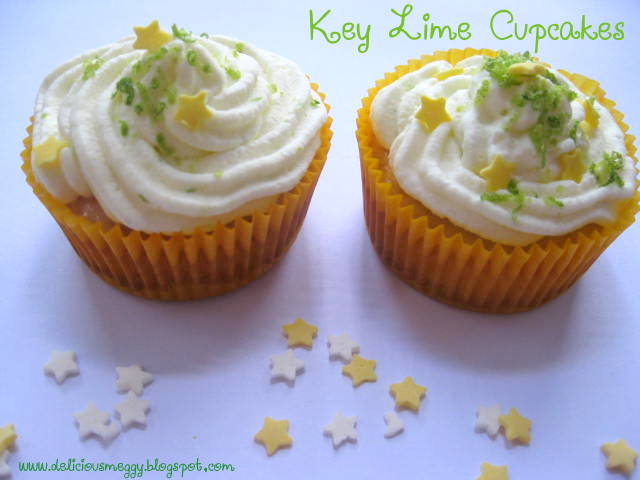 Keylime Cupcakes With Tequila Lime Buttercream Using Cake Mix
