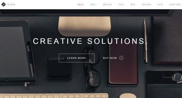 Responsive One Page Drupal Theme
