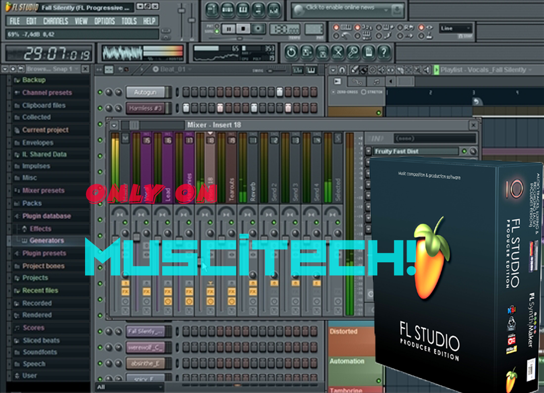 Free Fruity Loops 10 Crack Download