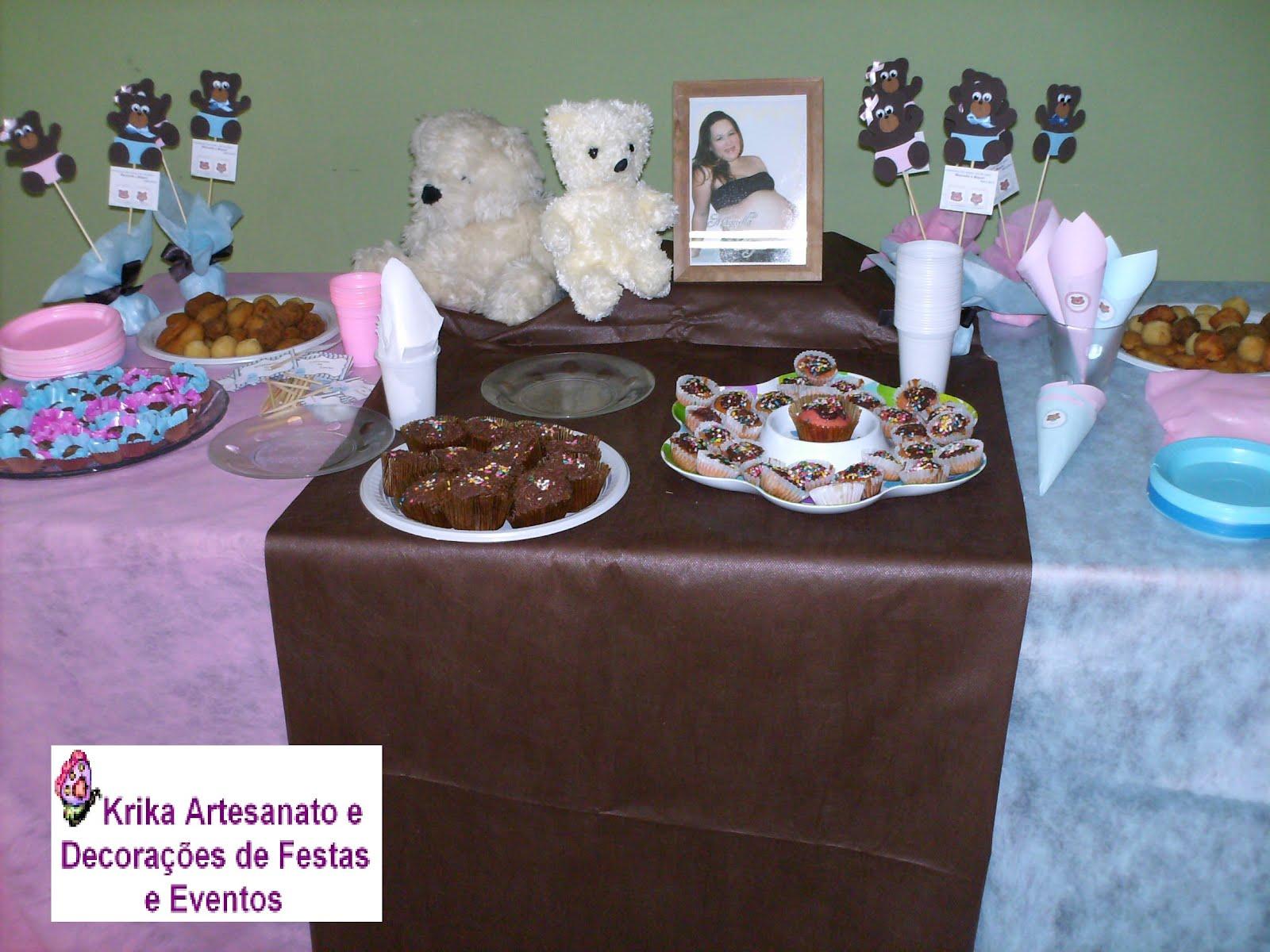 Festa Ursinho Pooh Baby  Decoração Festa Ursinho Pooh