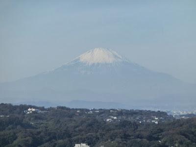 衣張山からの富士