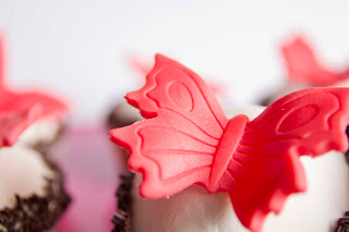 Cupcakes mármol de chocolate