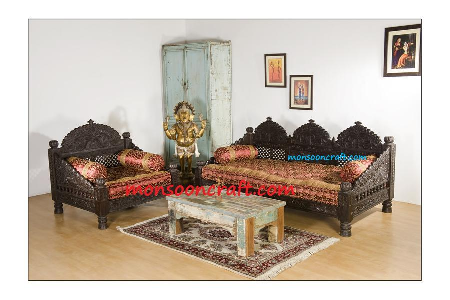 Designer sofa beds india sofa design Sofa set india