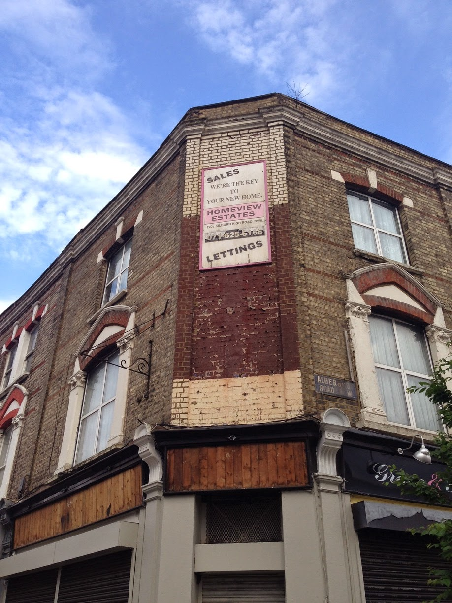Ghost Sign, Kilburn, London