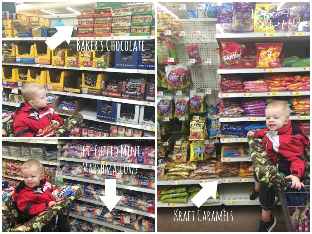 snowman, buttons, chocolate, caramel, marshmallows, homemade, money-saving, gift ideas