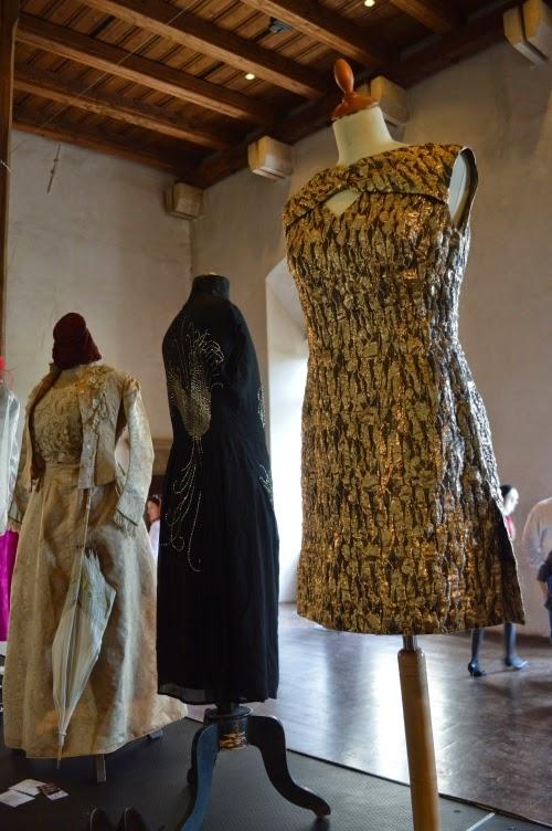 prague vintage fair 2014, dress, vimtage, gold