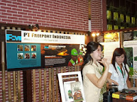 foto indogreen forestry expo - pt freeport indonesia