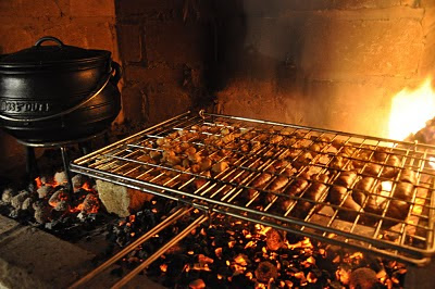 how to cook boerewors on a braai