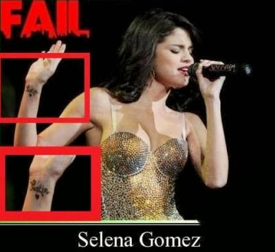 Tattoo Selena Gomez