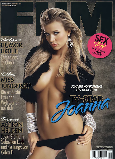 Joanna Krupa - FHM MAGAZINE GERMANY NOVEMBER 2011
