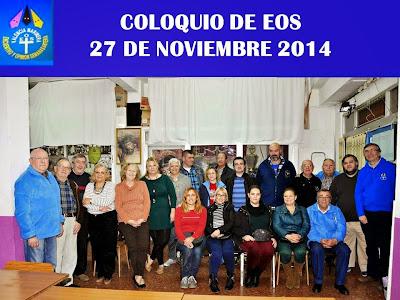 ULTIMO COLOQUIO AÑO 2014