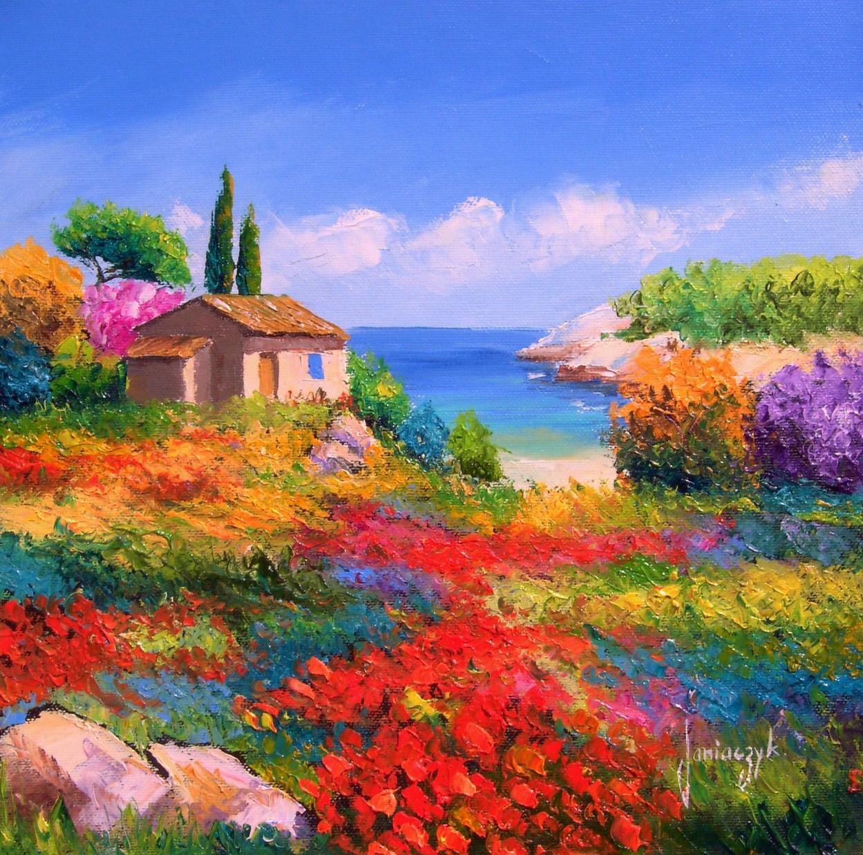 Cuadros pinturas oleos flores y paisajes con esp tula leo - Ver cuadros modernos ...
