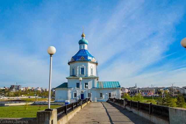 Путешествия: О жизни: Успенская церковь Чебоксары