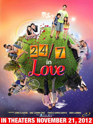 24/7 in Love (Star Magic 20th anniversary movie) opens in theaters this November 21