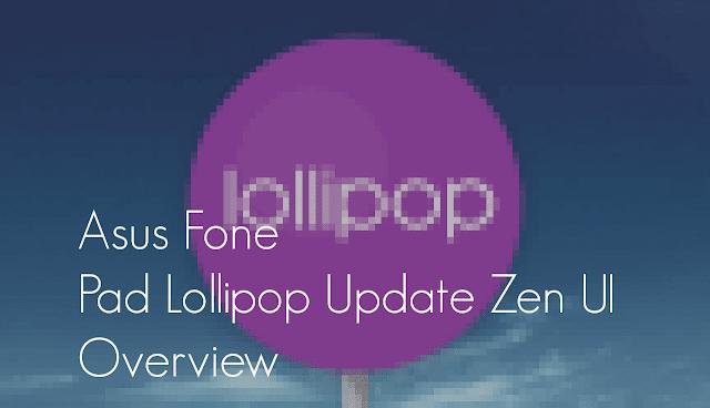 Android Lollipop Asus fonepad 7 ZEN UI