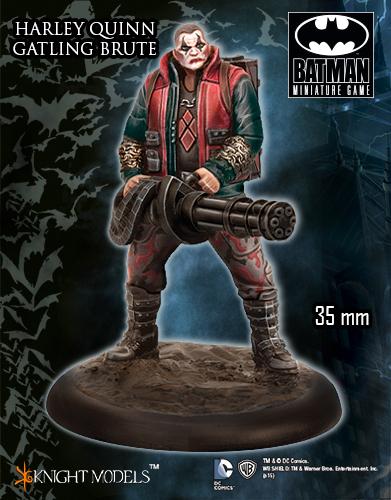 Harley Quinn Gatling Brute