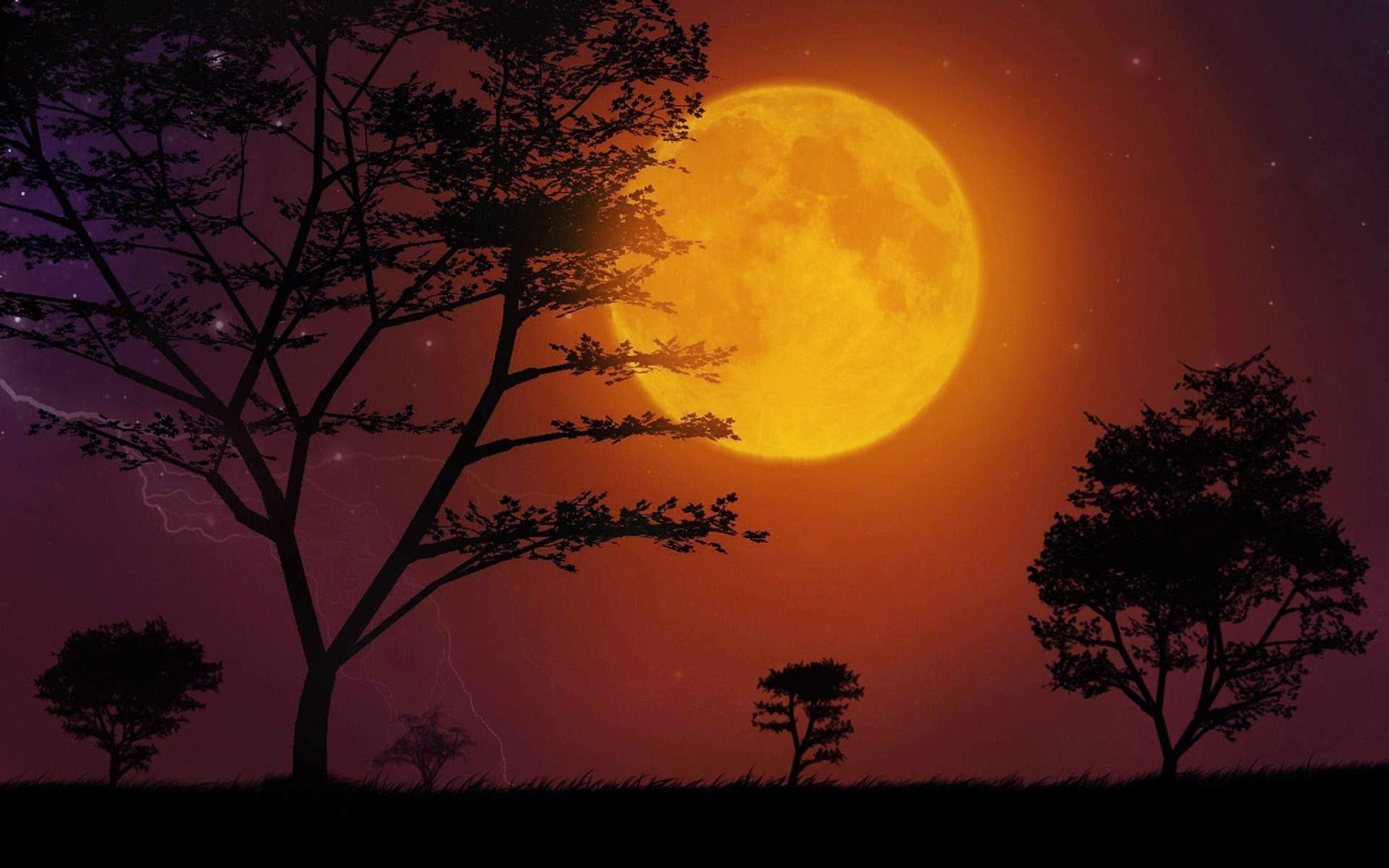 Super Moon 2014 wallpapers HQ