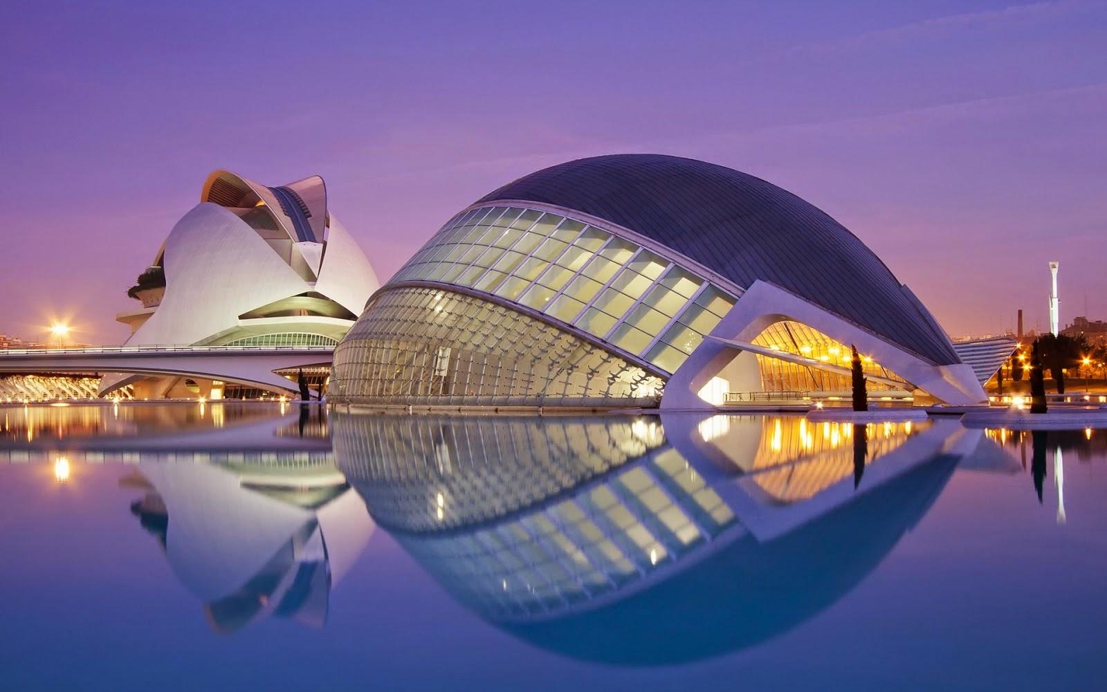 Arquitectura moderna edificios representativos for Construccion arquitectura