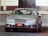 trompa frente parrilla Mercedes Benz E320 CDI