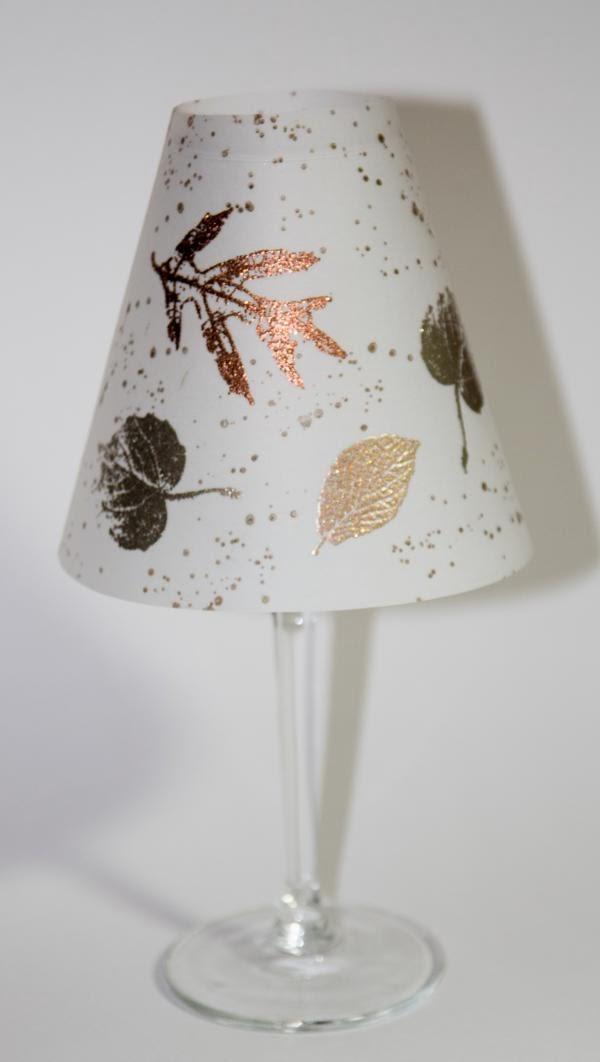 colorworxx kreativ mit stampin up in berlin herbstliche lampenschirme aus vellum mit stampin up. Black Bedroom Furniture Sets. Home Design Ideas