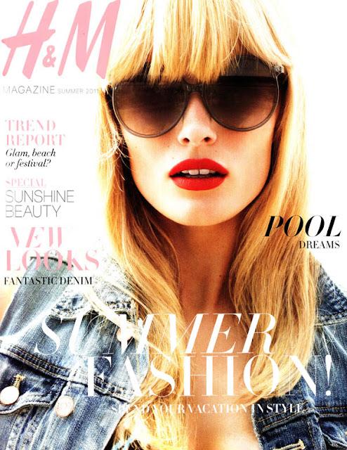editacover H&M Magazine Summer 2011 Cover | Edita Vilkeviciute by Daniel Jackson