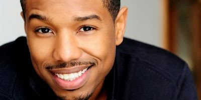 Actor Michael B Jordan in Star Wars Episode 7