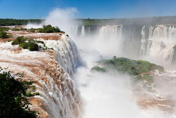 Image result for iguazu falls argentina and brazil