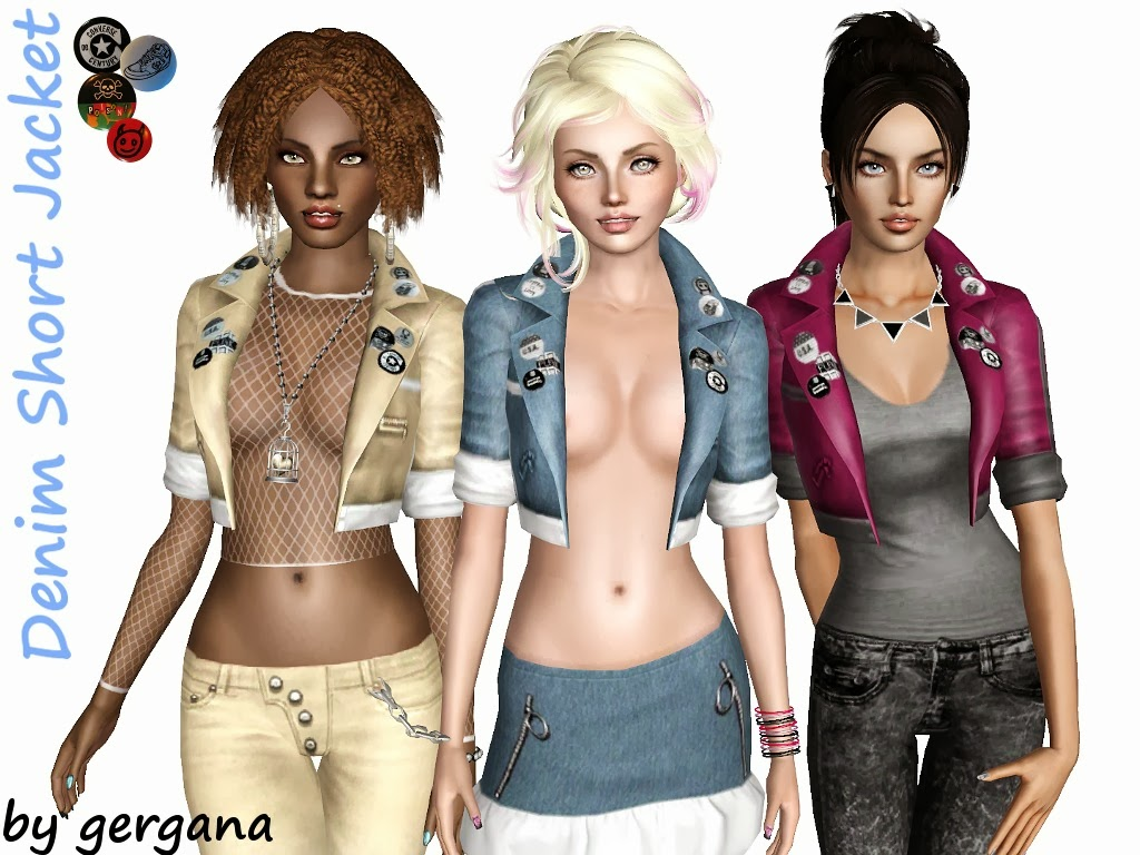 Search-and-find for Sims 3 custom content. WCIF Undershirts and jackets/vests as accessories? Quick Reply Print version. Search this Thread Replies: 6 I'm hoping to find vests/jackets/half jackets/t-shirts/tank tops/etc as undershirts for all ages if possible Also open shirts to wear over the t-shirt accessories XD Advertisement Nysha.