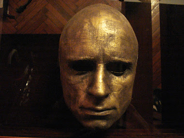 Gold Plated Mask