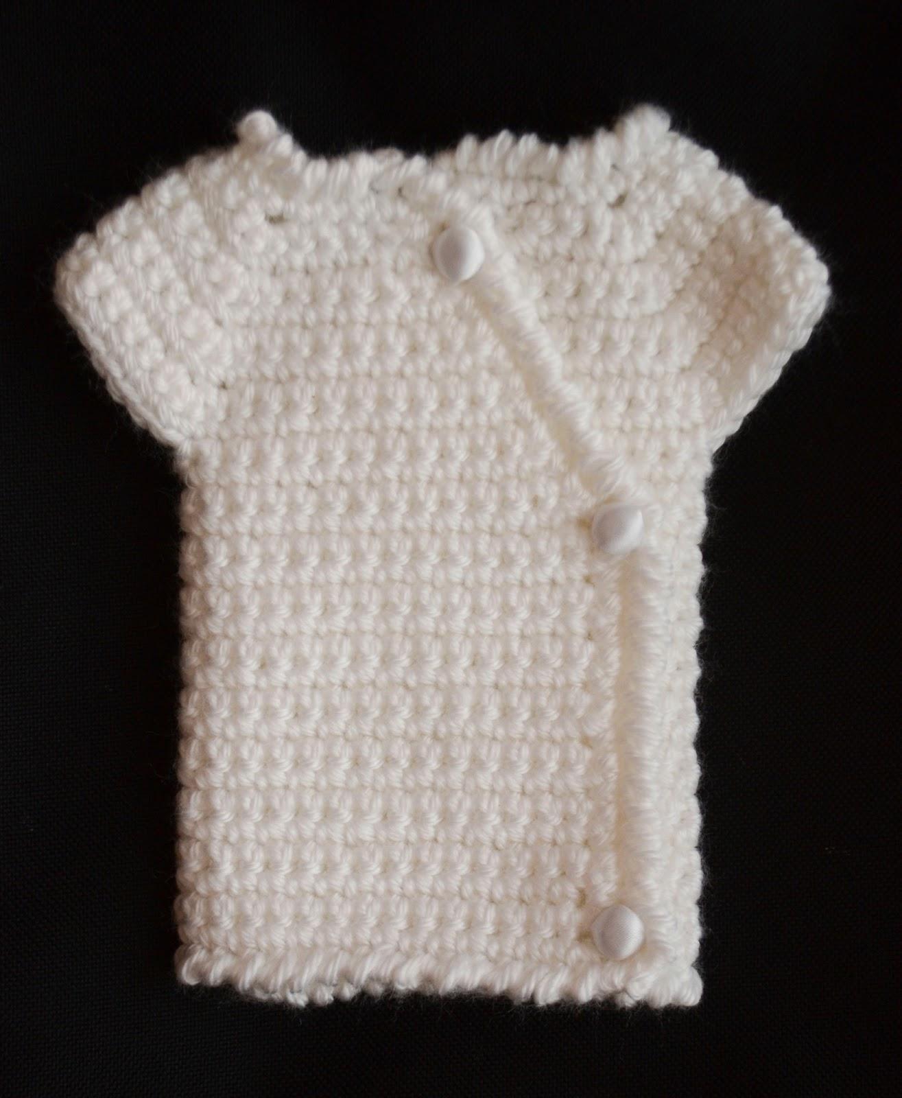 Love You More Than A Bus Kimono Crochet Pattern