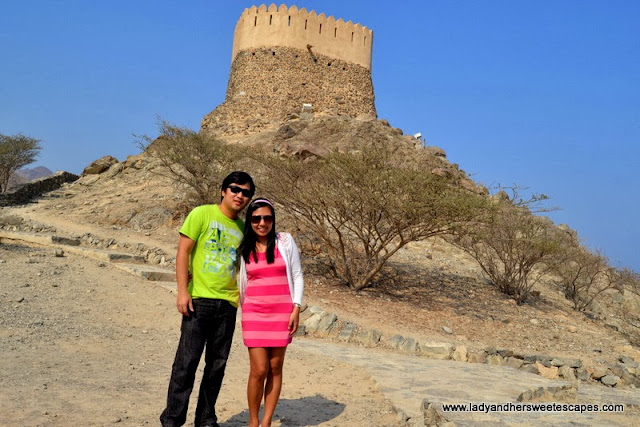 Ed and Lady at Al Badiyah in Fujairah