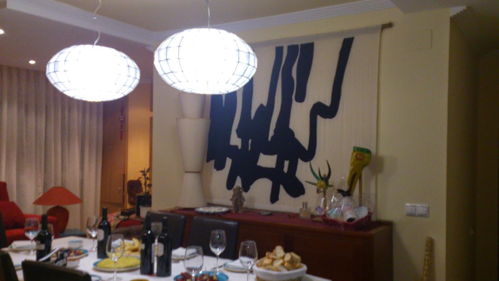 salon,comedor,lamparas,www.lolatorgadecoracion.es