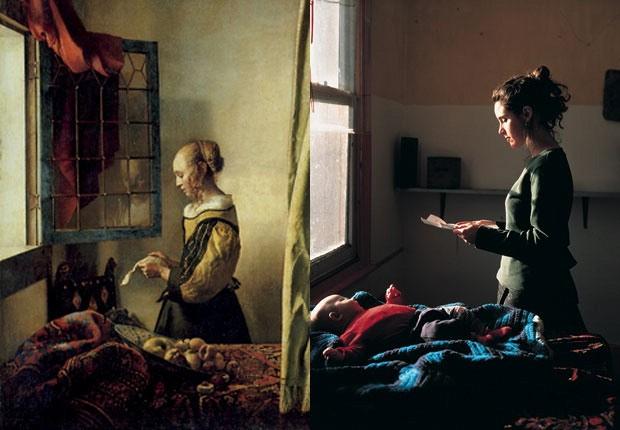 La 24esima ora gli 39 adesso 39 di vermeer e l entropia dei muse - La ragazza alla finestra dali ...
