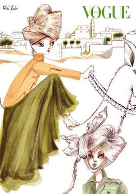 Fashion Illustration: Ruben Toledo