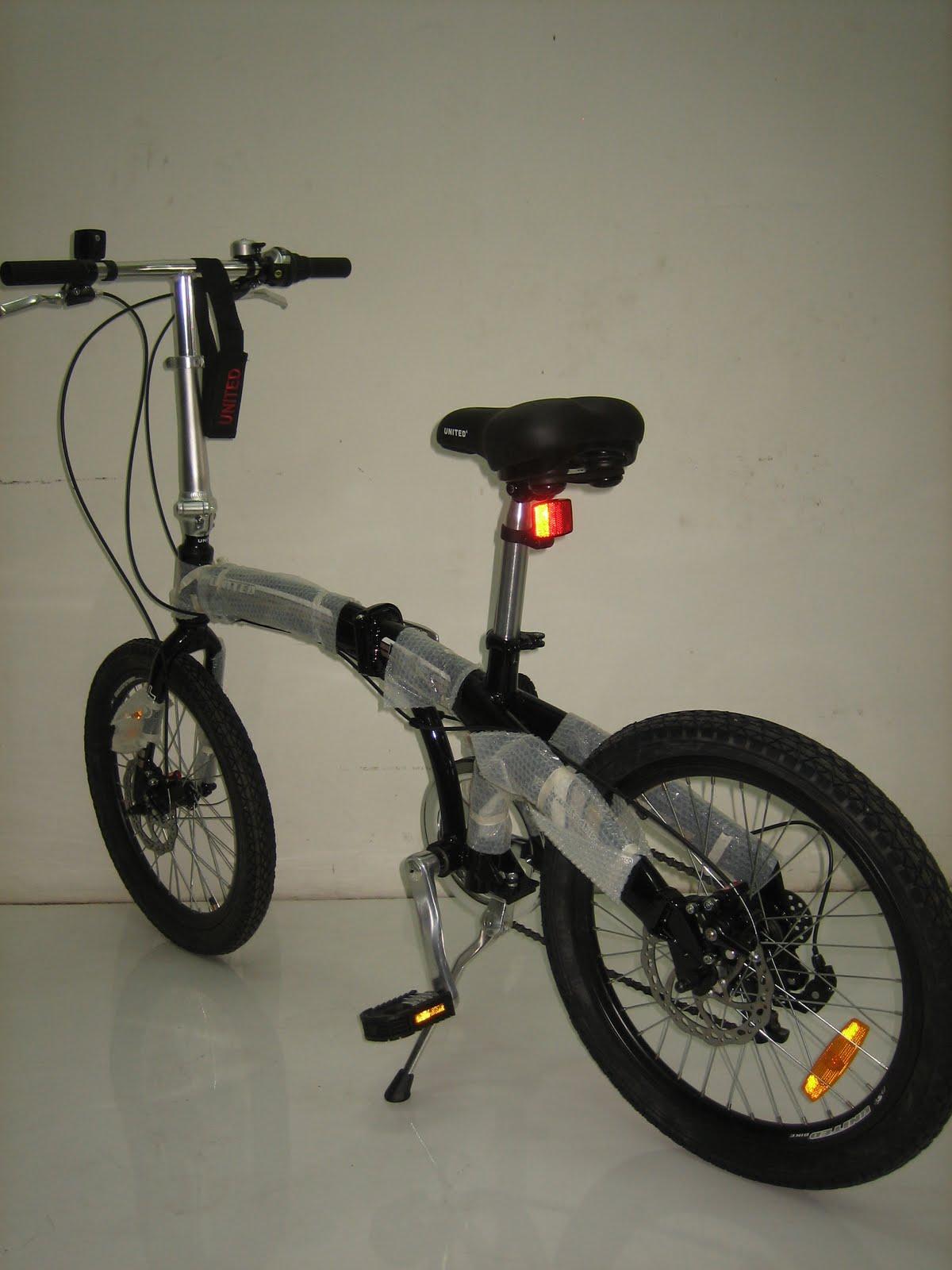 GOES BIKE: Sepeda Lipat UNITED DOT Disc Brake Alloy Frame