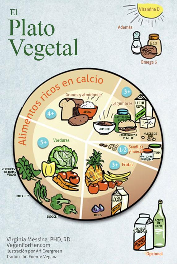 Fuente Vegana: El Plato Vegetal