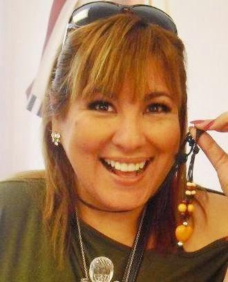 Mónica Torres con flequillo