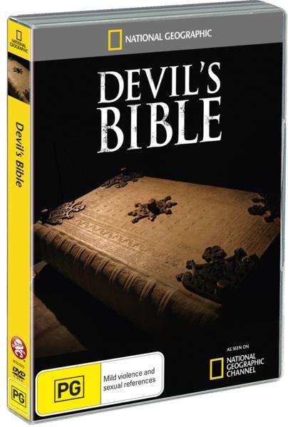 National Geographic A Bíblia do Diabo TVRip Dublado ntg1023