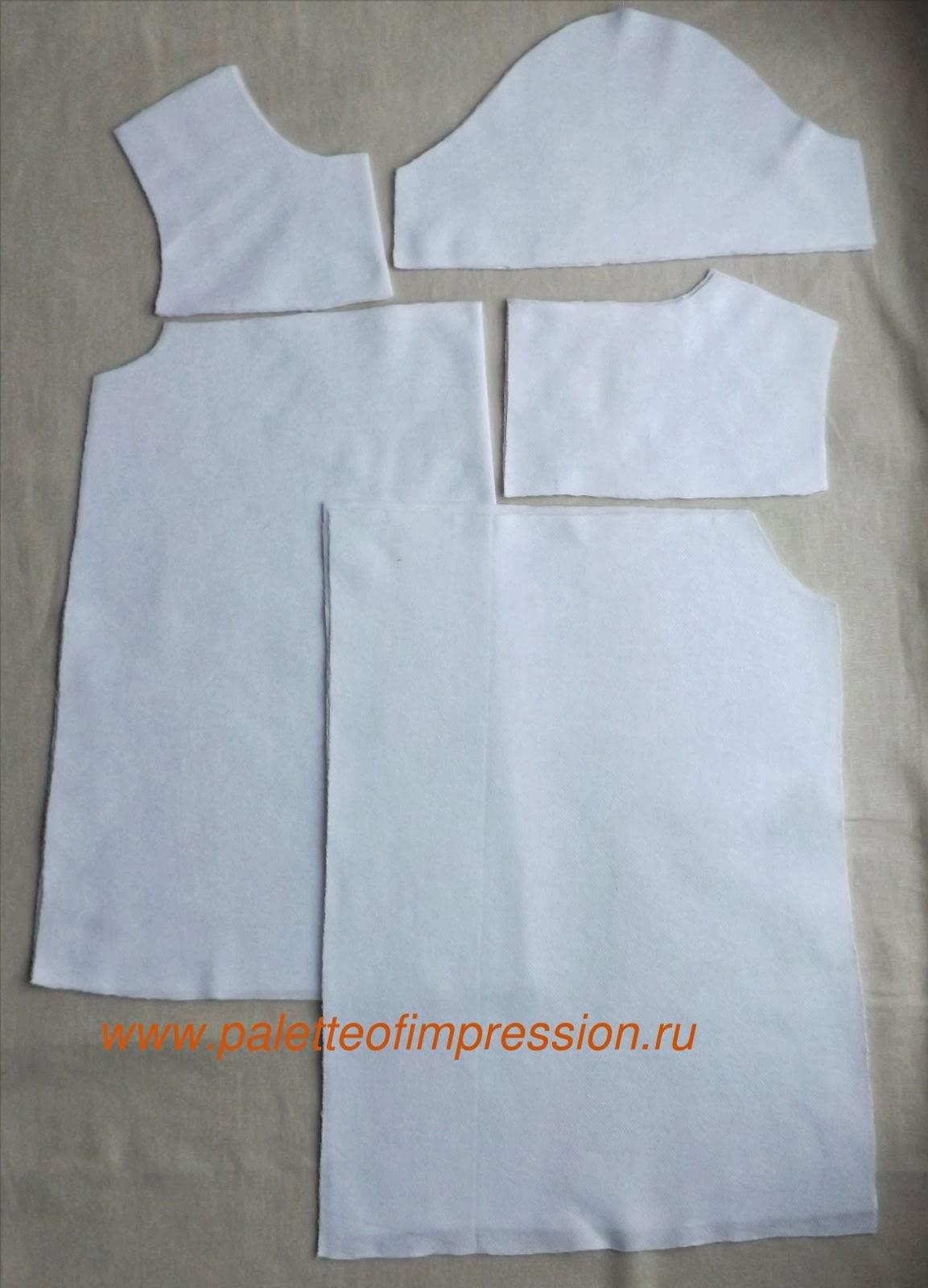 Работа в процессе ее создания. Платье для девочки. Пике.. Блог Вся палитра впечатлений.